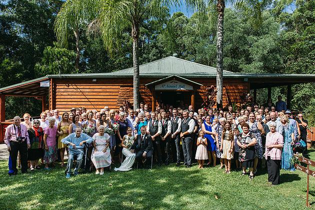 Family Reunion at Mt Nimmel Hall